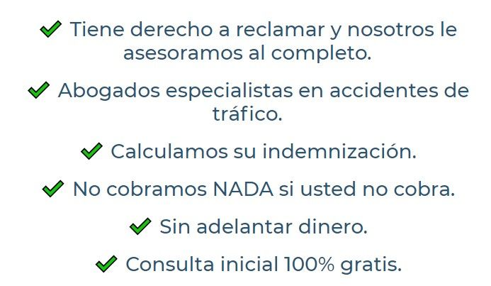 Abogados accidente de tráfico